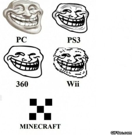trollface-on-different-consoles