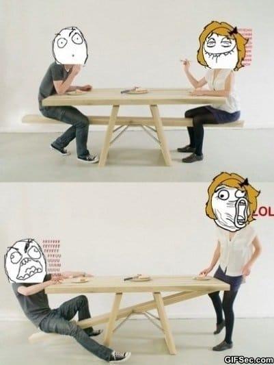 trolling-table