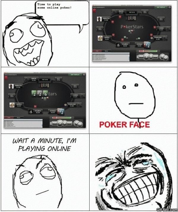 Днем, смешные картинки покер фейс