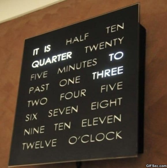 Awesome clock funny
