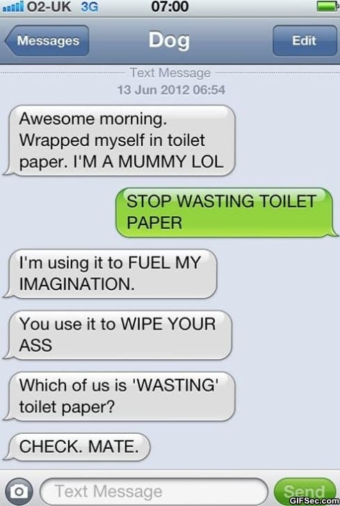 Funny Meme Text Messages : Funny message quotes quotesgram