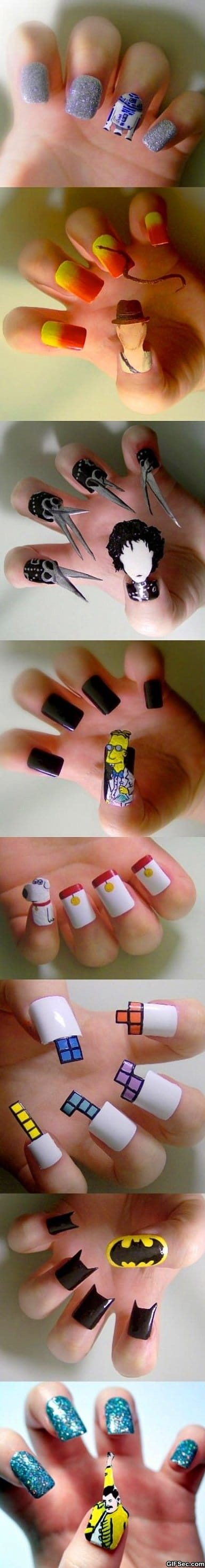 Awesome nail art
