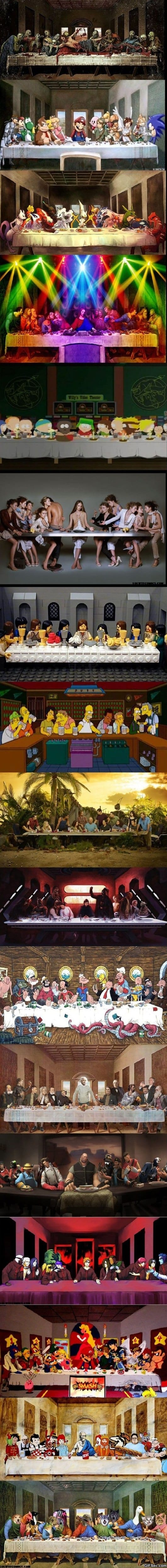 Different Versions Of The Last Supper