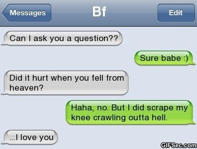 Funny SMS - Hell vs Heaven