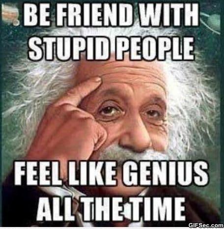 Stupid People Vs Genius 1 Jpg