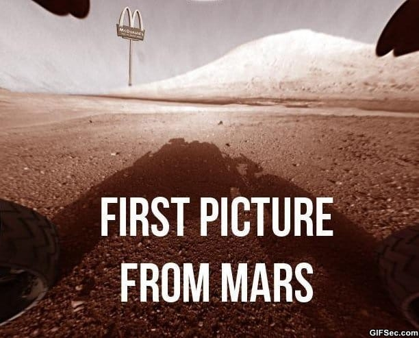 directions to mars funny - photo #10