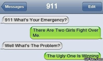 Funny SMS - 2 Girls fighting over me