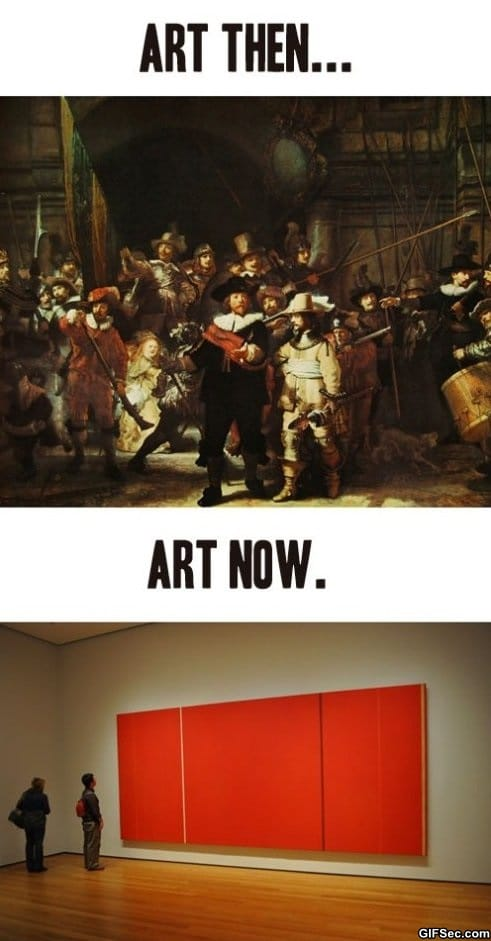 Art Then And