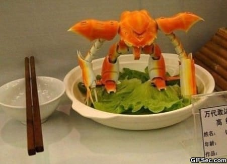 Transformer crab