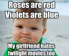 Twilight - Roses are red