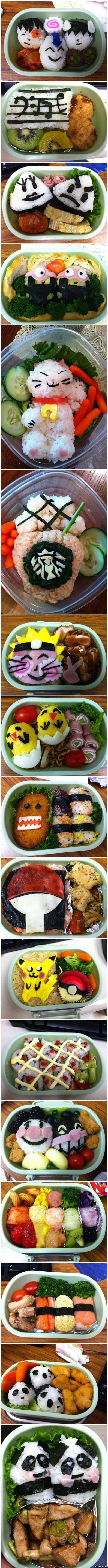 Awesome lunches for kids