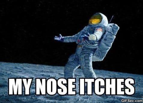 Poor Astronaut