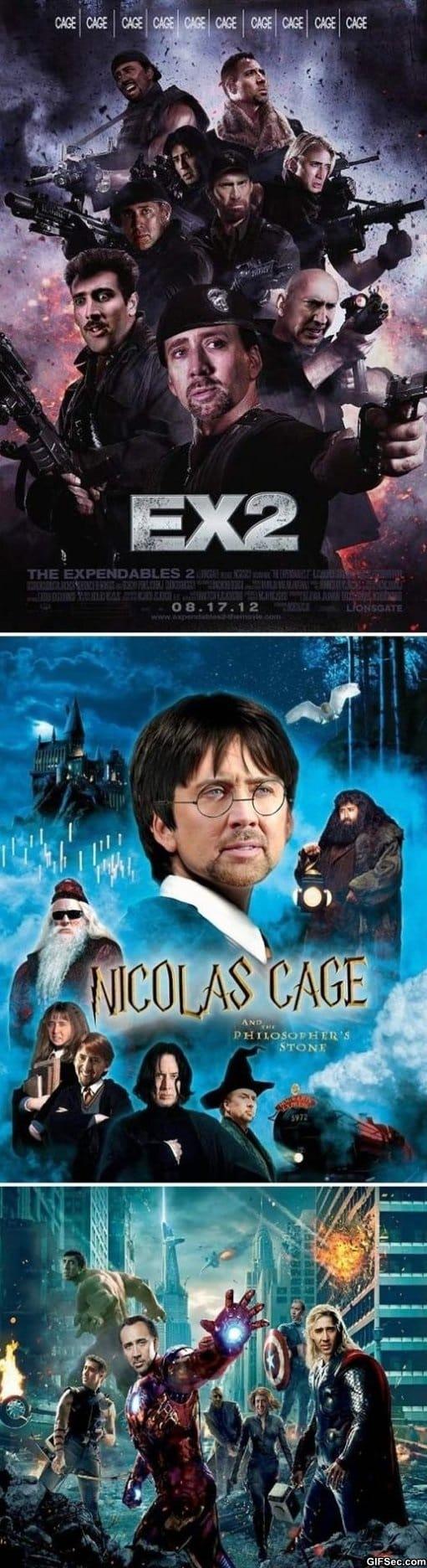Starring Nicolas Cage