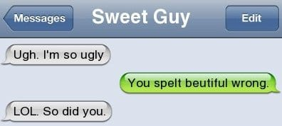 Text Message - The Spelling