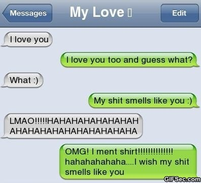 iPhone SMS - Smell