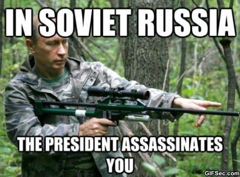 MEME - In Soviet Russia