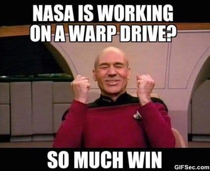 MEME - Warp Drive