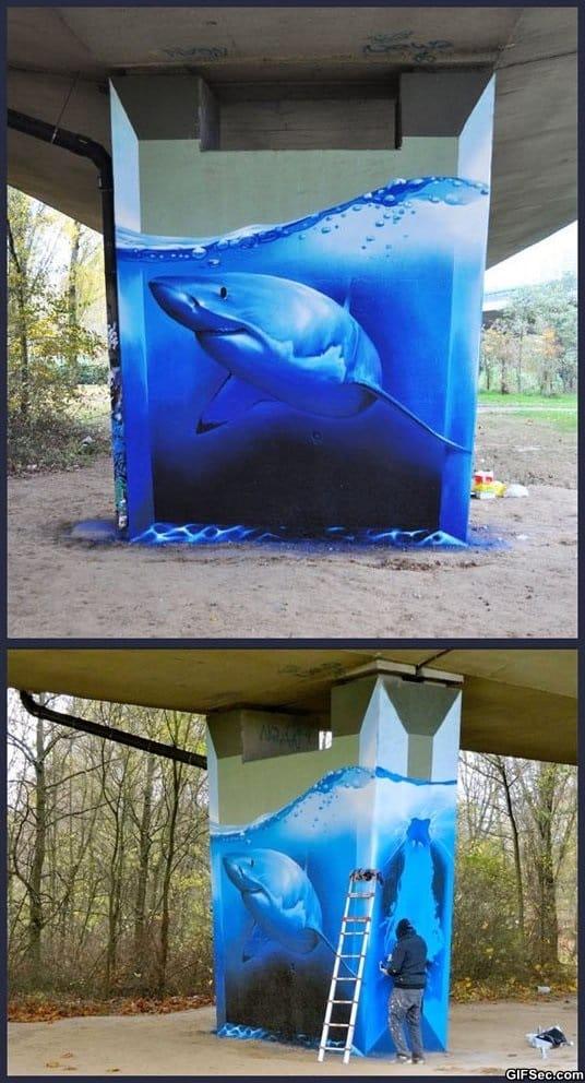amazing-shark-graffiti