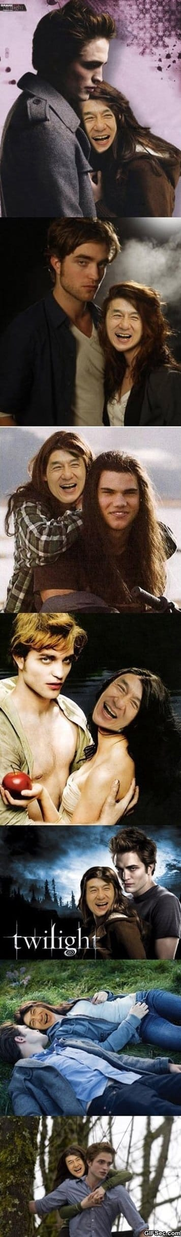 Funny Pictures - Twilight starring Jackie Chan