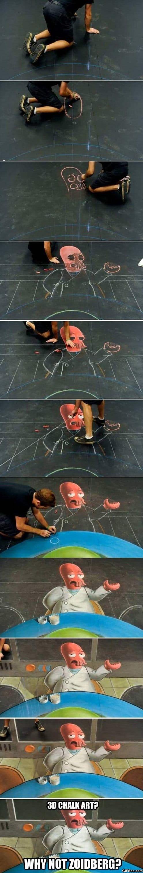 LOL - 3D street art