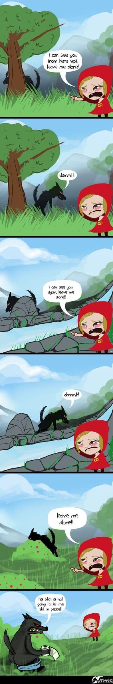 comics-little-red-riding-hood