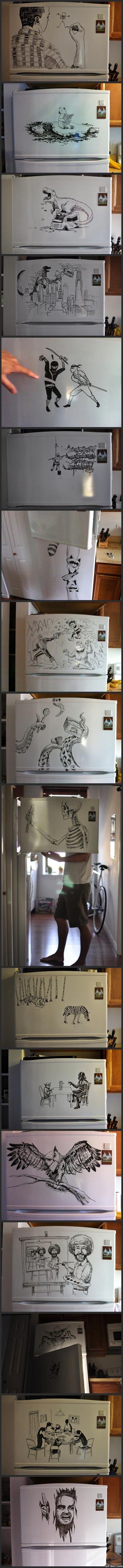 Freezer Art