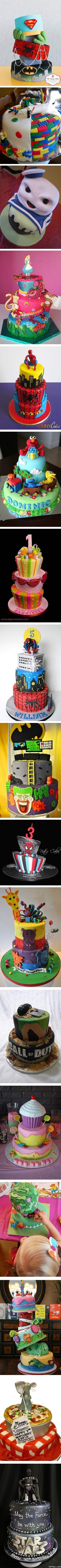 Funny Pictures - Cool Birthday Cakes