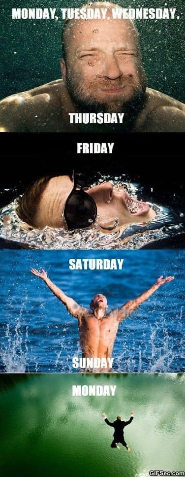LOL - How my week works