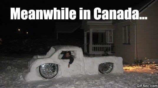 MEME - Meanwhile in Canada