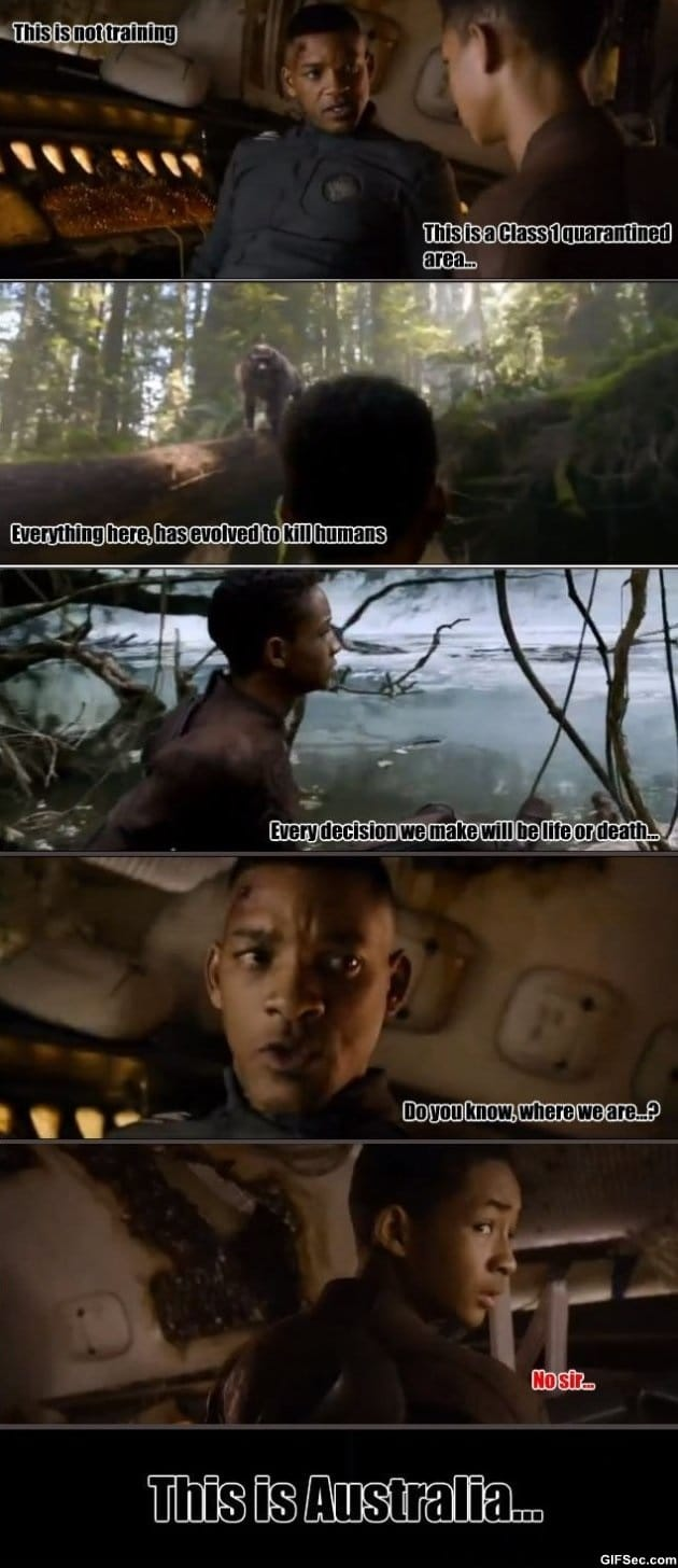 Funniest Meme On Earth : Funny after earth the movie g