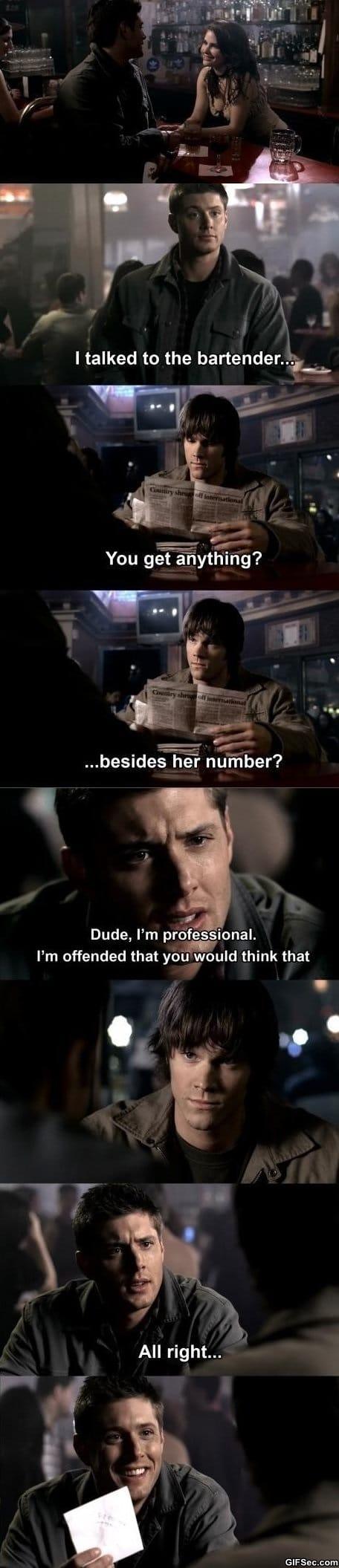 Funny - Dean Winchester