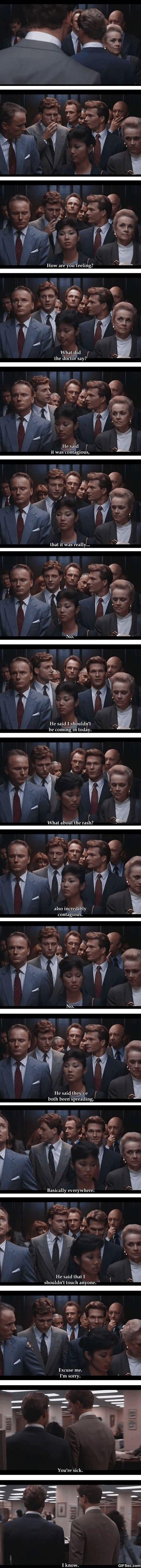Funny - Fun in the elevator