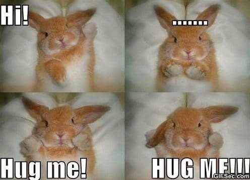 MEME - Hug me