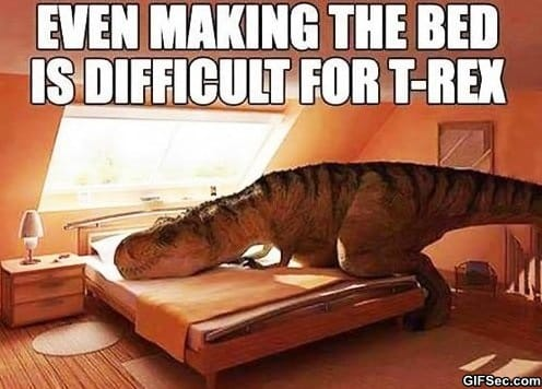 MEME - Poor T-Rex