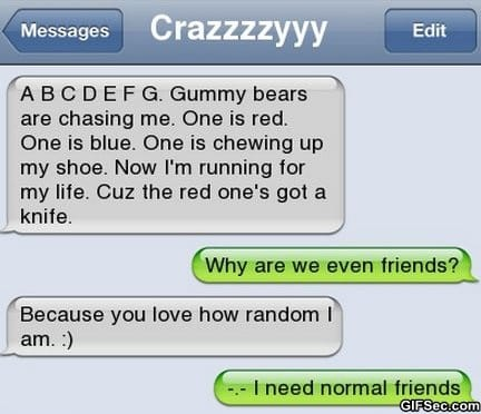 sms-i-need-normal-friends