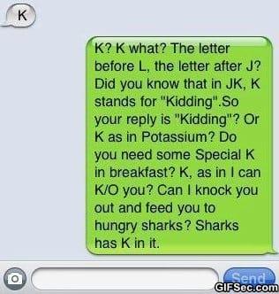 SMS - K