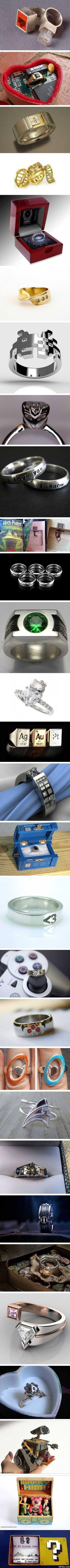 Rings for geeks