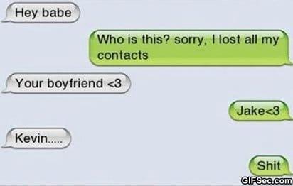 SMS - The Boyfriend