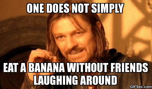 banana laugh