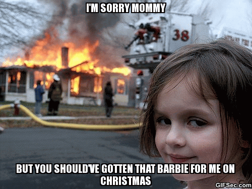 Sorry Mommy