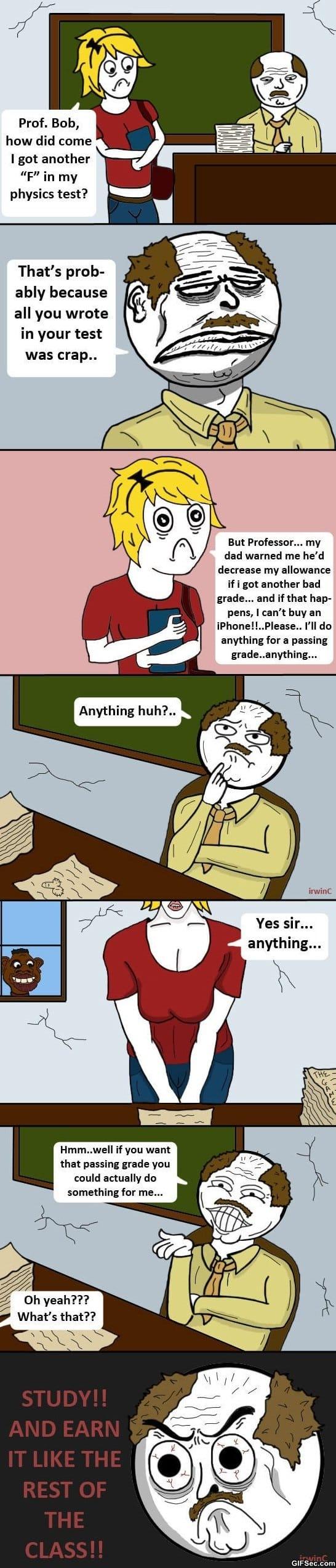 Comics - Passing Grades