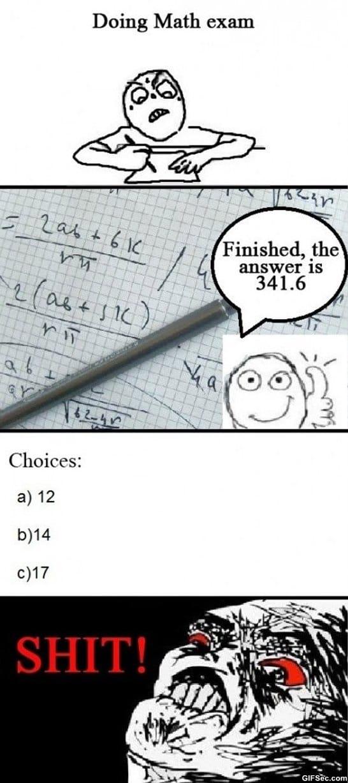 Math exams