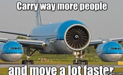 New planes