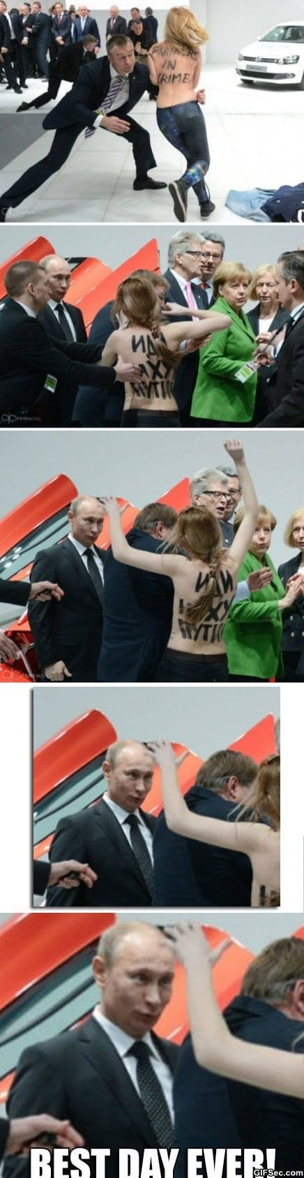 Putin vs. Femen