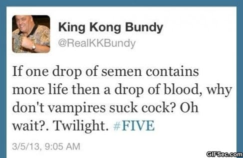 Twilight fans will kill me for this