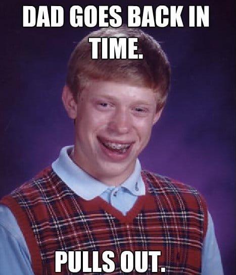 Bad luck brian meme 2014