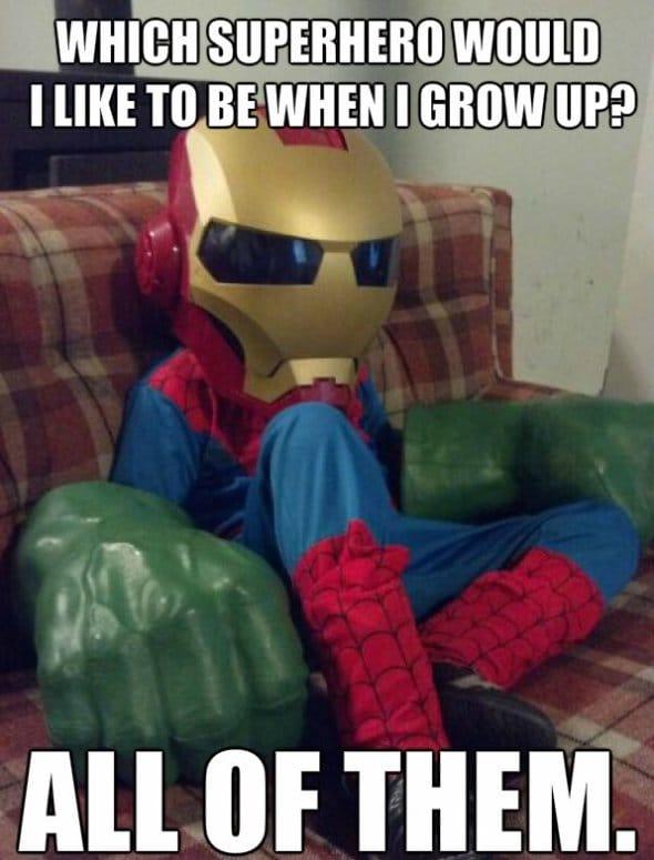 Funny Superhero Quotes Quotesgram