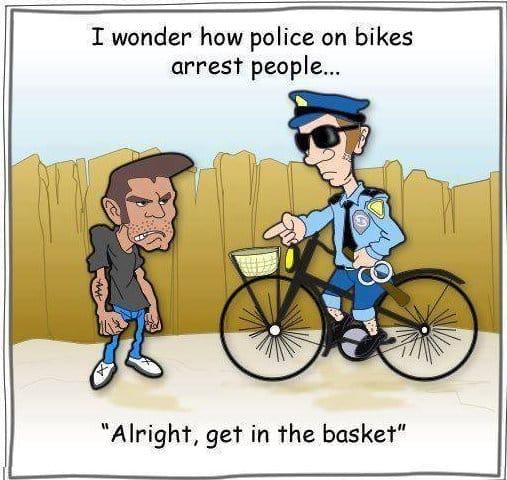 Haha Not Funny Meme : Haha police on bikes meme lol g