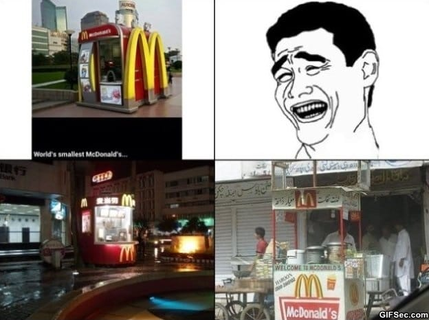 2014 MEME Worlds smallest McDonalds