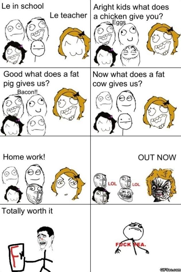 Funny Meme Rage Comics : Funny rage comics worth it g